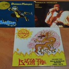 Discos de vinilo: PACK ESPECIAL 3 - DERRICK MORGAN - SKA REGGAE. Lote 46550627
