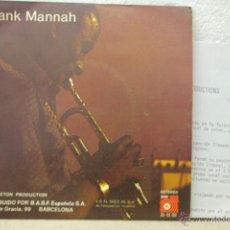 Discos de vinilo: FRANK MANNAH-YENGE-SHUNSHINE LAND-. Lote 46551377