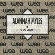 Discos de vinilo: ALANNAH MYLES-BLACK VELVET SINGLE VINILO 1990 PROMOCIONAL SPAIN. Lote 46558462