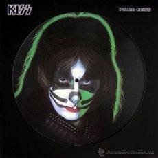 Discos de vinilo: LP KISS PETER CRISS PICTURE DISC 180G VINILO HEAVY METAL. Lote 36260292