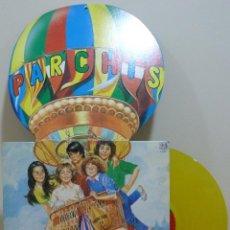 Discos de vinilo: PARCHIS - LAS LOCURAS DE PARCHIS (LP BELTER 1982) VINILO AMARILLO. Lote 46562926