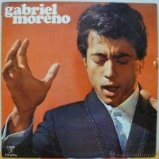 Discos de vinilo: GABRIEL MORENO (LP COLUMBIA 1970). Lote 46563215