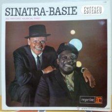 Discos de vinilo: SINATRA-BASIE - AN HISTORIC MUSICAL FIRST (LP REPRISE 1964 SPAIN). Lote 46563329