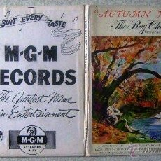 Discos de vinilo: THE RAY CHARLES SINGERS.AUTUMN NOCTURNE....DOBLE EP. Lote 46564455