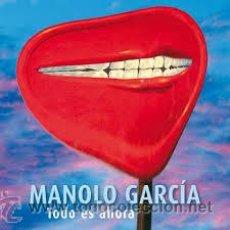 Discos de vinilo: MANOLO GARCIA - TODO ES AHORA DOBLE LP - EDICION LIMITADA / 11 MAQUETAS Y 4 INEDITAS / COD. DESCARGA. Lote 49085819