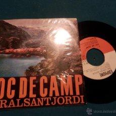 Discos de vinilo: CORAL SANT JORDI - DIR. ORIOL MARTORELL - FOC DE CAMP - EP 6 TEMES 45 RPM - EDIGSA-EDIPHONE 1962. Lote 46568933