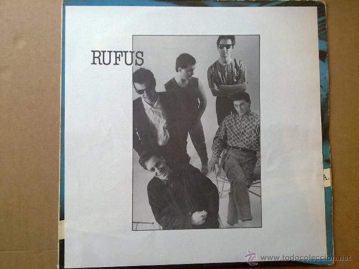 Discos de vinilo: Rufus - No quiero ser presidente U.S.A. - 1985 - Encarte - Spain - VG+/VG - Foto 2 - 46569717