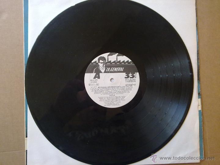 Discos de vinilo: Rufus - No quiero ser presidente U.S.A. - 1985 - Encarte - Spain - VG+/VG - Foto 4 - 46569717