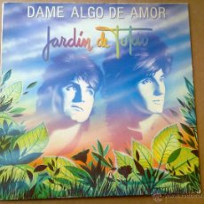 Discos de vinilo: JARDIN DE TOKIO - DAME ALGO DE AMOR - 1986 - EX+/VG. Lote 46569932