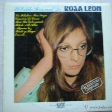 Discos de vinilo: ROSA LEON. Lote 46574349