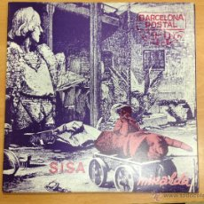 Discos de vinilo: LP SISA BARCELONA POSTAL DOBLE PORTADA CON LIBRO FOTOGRAFICO MUY BUEN ESTADO. Lote 175648298