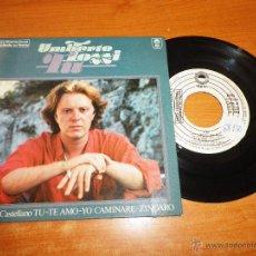 Discos de vinilo: UMBERTO TOZZI TU 4 TEMAS CANTADOS EN ESPAÑOL EP VINILO PROMO GATEFOLD PORTADA DOBLE 1978 EPIC. Lote 46579846