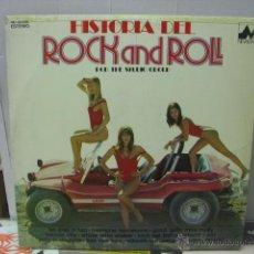 Discos de vinilo: THE STUDIO GROUP - HISTORIA DEL ROCK AND ROLL - DIAL DISCOS 1978. Lote 46579939