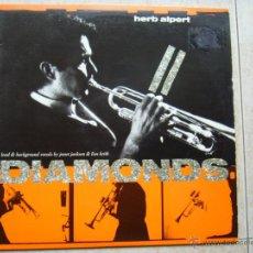 Discos de vinilo: HERB ALPERT - DIAMONDS. Lote 46580571