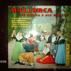 Discos de vinilo: AGRUPACION EL PARADO DE VALLDEMOSA - MALLORCA, SU MUSICA Y SUS DANZAS. Lote 46582477
