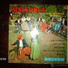 Discos de vinilo: AGRUPACION EL PARADO DE VALLDEMOSA - MALLORCA Y SU MUSICA ( INSTRUMENTAL ). Lote 46582550