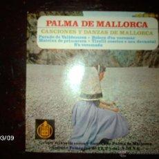 Discos de vinilo: GRUPO MIXTO DE COROS Y DANZAS DE PALMA DE MALLORCA DE LA SECCION FEMENINA DE FET Y LAS JONS . Lote 46582593