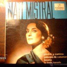 Discos de vinilo: NATI MISTRAL - PIEDRA Y CAMINO + 3. Lote 46585046