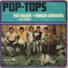 Discos de vinilo: POP - TOPS, SG, THAT WOMAN + 1, AÑO 1968. Lote 46586142