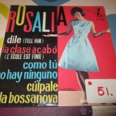 Discos de vinilo: ROSALIA. DILE.. Lote 47970715