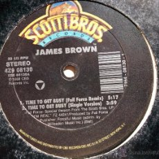 Discos de vinilo: JAMES BROWN. BUSY J.B. (TIME TO GET GET MIX) MAXI. Lote 46591552