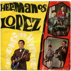 Discos de vinilo: HERMANOS LÓPEZ - CANCIONES DE JUVENTUD - EP SPAIN 1968 - BN45-157. Lote 46593628