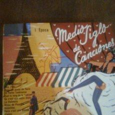 Discos de vinilo: JEAN EDDIE CREMIER Y ORQUESTA - MEDIO SIGLO DE CANCIONES... POR SEBASTIÁN GASCH (1956) -DISCOLIBRO. Lote 46594967