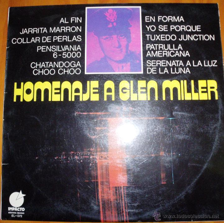 MEMPHIS MAKER & ORCHESTRA - HOMENAJE A GLEN MILLER (Música - Discos - Singles Vinilo - Orquestas)