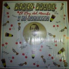 Discos de vinilo: PEREZ PRADO - EL REY DEL MAMBO 1985. Lote 46597234