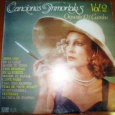 Discos de vinilo: ORQUETSA 101 CUERDAS - CANCIONES INMORTALES. VOLUMEN 2 1980. Lote 46597240