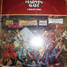 Discos de vinilo: MARVIN GAYE - I WANT YOU - ARIOLA /MOTOWN 1976. Lote 46597320
