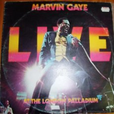 Discos de vinilo: MARVIN GAYE - LIVE AT THE LONDON PALLADIUM. Lote 46597351