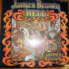 Discos de vinilo: JAMES BROWN - HELL - DOBLE ALBUM 1974. Lote 46597358