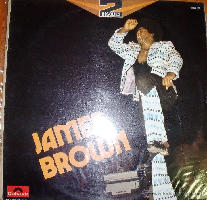 JAMES BROWN - DOBLE ALBUM - LEER RESEÑA (Música - Discos - LP Vinilo - Funk, Soul y Black Music)