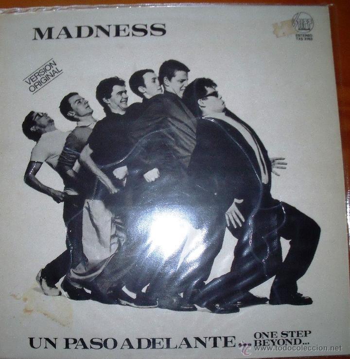 MADNESS - UN PASO ADELANTE - 1980 (Música - Discos - Singles Vinilo - Grupos Españoles de los 70 y 80)