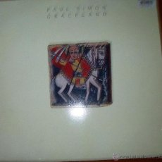 Discos de vinilo: PAUL SIMON - GRACELAND - UK 1986. Lote 46597595