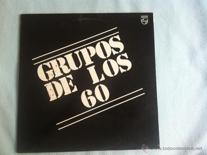 LP GRUPOS DE LOS 60-VARIOS (Música - Discos - LP Vinilo - Solistas Españoles de los 70 a la actualidad)