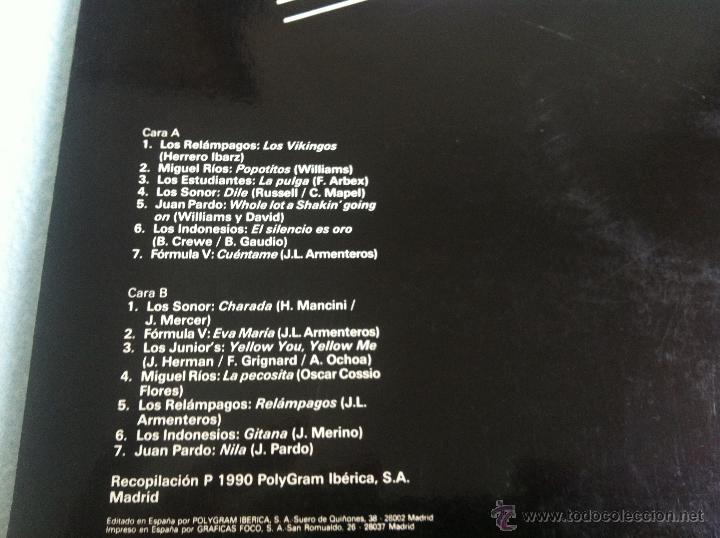 Discos de vinilo: LP GRUPOS DE LOS 60-VARIOS - Foto 2 - 46600774