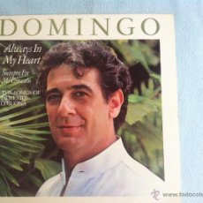 Discos de vinilo: LP PLACIDO DOMINGO-ALWAYS IN MY HEART. Lote 46601023
