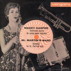 Discos de vinilo: MACKY KASPER, EP, SENTIMENTAL JOURNEY + 3, AÑO 1963. Lote 46602872