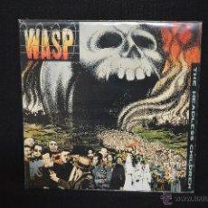 Discos de vinilo: WASP - THE HEADLESS CHILDREN - LP. Lote 46604232