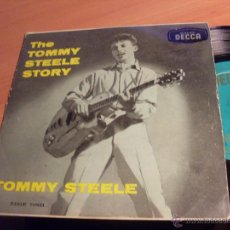 Discos de vinilo: LA HISTORIA DE TOMMY STEELE (TOMAME OTRA VEZ NENA + 3) EP ESPAÑA 1957 (EX+/VG+) (EP10). Lote 46607935
