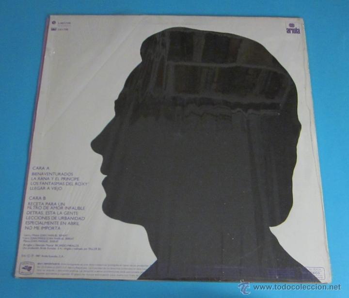 Discos de vinilo: SERRAT. BIENAVENTURADOS. ARIOLA - Foto 2 - 46614121