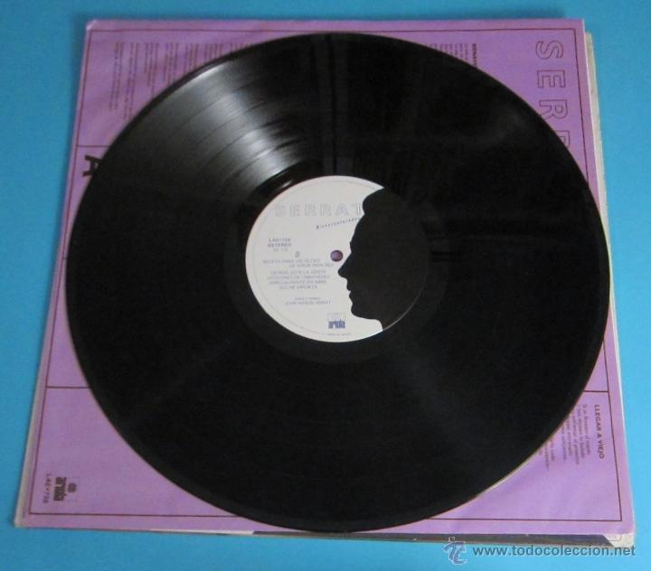 Discos de vinilo: SERRAT. BIENAVENTURADOS. ARIOLA - Foto 4 - 46614121