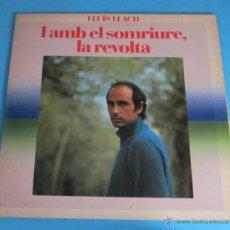 Discos de vinilo: LLUIS LLACH. I AMB EL SOMRIURE, LA REVOLTA. Lote 46614206