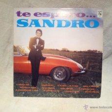 Discos de vinilo: SANDRO - TE ESPERO (CYS 1363) CAYTRONICS 1972. Lote 46619176