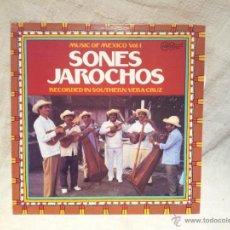 Discos de vinilo: MUSIC OF MEXICO VOL.I...SONES JAROCHOS.ARHOOLIE RECORDS..CALIFORNIA. 1978. Lote 46620327