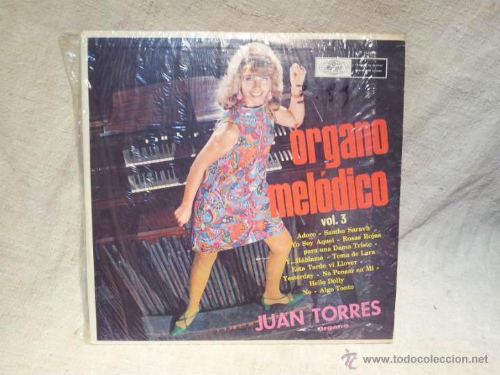 JUAN TORRES--ORGANO MELODICO VOL. 3 ..MUSART MEXICO..AÑOS 70 (Música - Discos de Vinilo - EPs - Grupos y Solistas de latinoamérica)