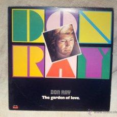 Discos de vinilo: DON RAY...THE GARDEN OF LOVE..POLYDOR CANADA 1978. Lote 46621145