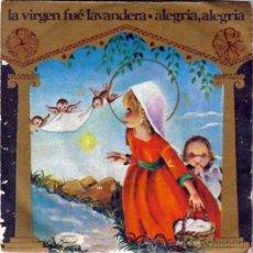 Discos de vinilo: VILLANCICOS LA VIRGEN FUE LAVANDERA,ALEGRIA,MOVIEPLAY 1970, ORFEON INFANTIL ESPAÑA, ILUSTRA MOL-RUIZ. Lote 46621254